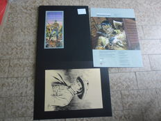 "Romanini, Giovanni - Portfolio ""Omaggio a Tex"", with 8x lithographs"