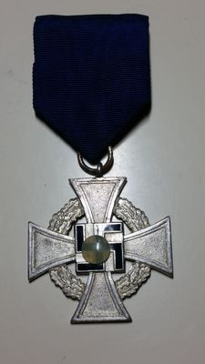 Medals:  German price for loyal service 1940-1945