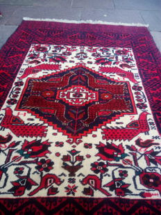 Persian rug (4 peacocks) - Baluch - Measurements: 145 x 95 cm