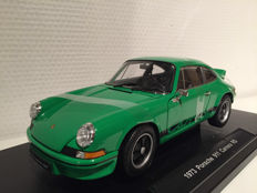 Welly - Scale 1/18 - Porsche Carrera 911 RS - Green/Black