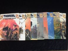 Thorgal 1 to 9 - 9x hc - 1st print/Re (1980/1985)