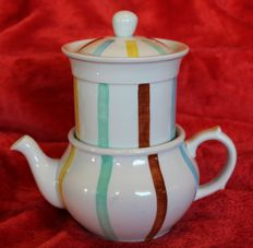 The sphinx - Vintage hand decorated and complete tea pot Parafeu