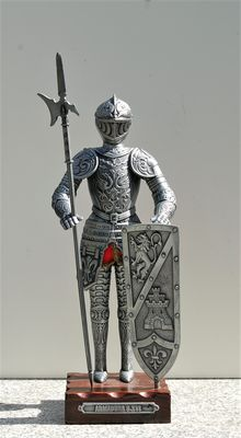 16th century European Knight in armour