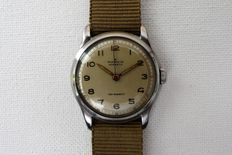 "MARVIN ""Hermetic"" Military Style Man's Wristwatch - World War Two Period - Circa 1944"
