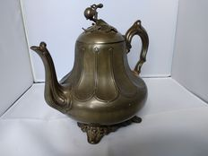 Britannia Philip Ashberry & sons Sheffield - English pewter teapot - approximately 1860