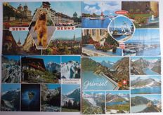 Switzerland lot of 630 postcards multi view and black-and-white