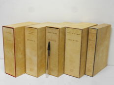 Lot of 9 volumes in 5 casings of the edition of Livre Monte-Carlo - 1946/1948