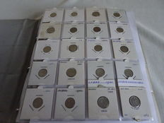 Sweden - batch of assorted coins 1653/1992 (397 pieces) in album, of which 204 x silver