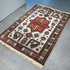 Special, light Kazakh - 145 x 103 - Unique rug