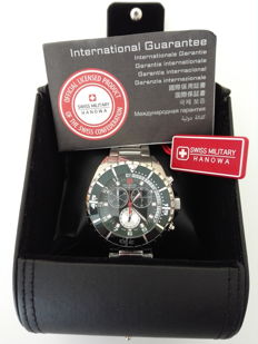 Swiss Military chronograph watch, from 2015, new. Reference: n-14578X