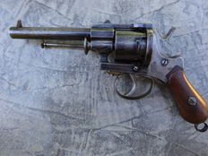 Pinfire revolver, cal 9mm, MEYER patented around 1865