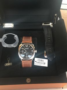 Panerai Radiomir PAM380 Logo  45mm - Men's Wristwatch - Ca. Years '2010s