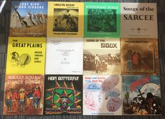 Very Rare Collection of  Native American Records _ Indian Tribe music