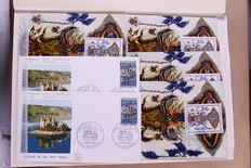 France, 1965-1978, batch of 739 FDCs in five stockbooks