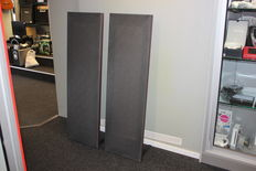 Magnepan MG-12/QR - Cherry / Grey colour - High End magnetostatic speakers - 2007 -