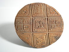 Bread stamp - wood - likely from Greece, 19th century