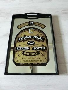 Chivas Regal Scotch Whisky spiegel dienblad - 20th century
