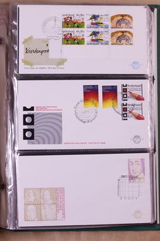 The Netherlands 1977/2014 – Collection FDCs in 6 Importa albums