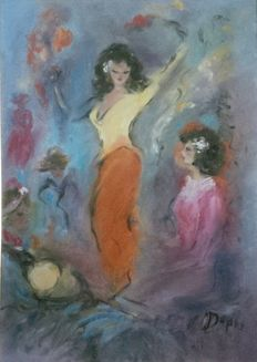 Doris (Michael Papageorgiou) (1896-1987) - Dancers
