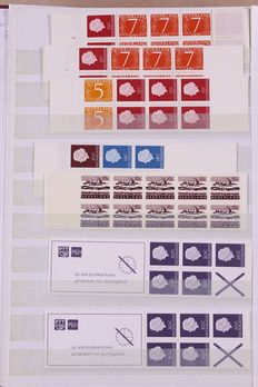 The Netherlands 1964/2000 - Batch of stamp booklets, with variations and plate flaws