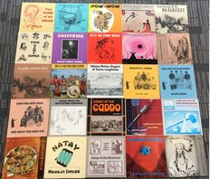 25 x Very Rare Canyon Records Vinly Records  - Native American music / Folks Indian Music