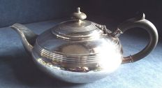 Beautiful ART DECO silver plated teapot for hot water by FRANK COBB c1905