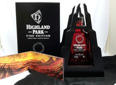 15 years Highland Park Fire Limited Edition 45.2% abv ( one of 28.000 bottles, Single Malt Scotch Whisky )