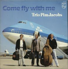 Trio Pim Jacobs - Come Fly With Me - Dutch piano jazz on Philips