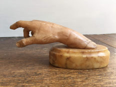 Hand in marble of Volterra - Italy - 17th century