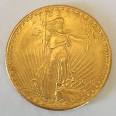 United-States - 20 dollars 'St. Gaudens' 1927 - gold