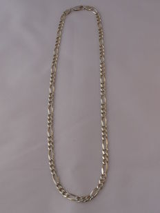 Unisex  925 silver necklace Length: 47.3 cm.  Weight: 20.19 g.