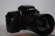 Nikon F50 with Sigma and Tamron lenses