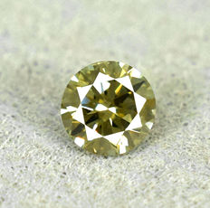 Diamond - 0.115 ct no reserve price