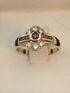 Ring- 750 gold, size 53