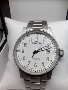 Fortis Flieger Pilot – Automatic – Big dial – From the 1990s – 200 metres.