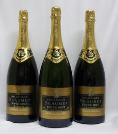 Beaumet Cuvee Brut, Champagne - 3 magnums (1500ml)