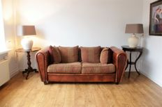 A sheep leather 2 seater sofa - JORIS, approx. 2004