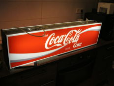Coca Cola, double-sided light box