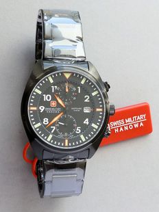 Swiss Military Hanowa Airborne - Men's Chronograph Wristwatch - Unworn
