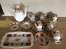 Royal Albert tableware - Lady Hamilton