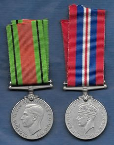 War Medal + Defence Medal - British Commonwealth 1939- 1945