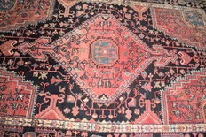 Old Persian Hamadan - 250 x 150 cm - with certificate of authenticity.
