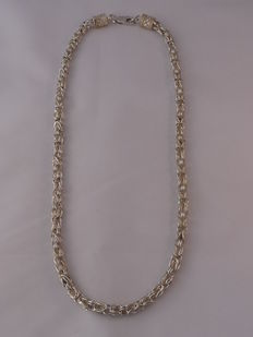Unisex  925 silver necklace Length: 52 cm.  Weight: 42.19 g.