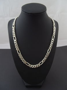 Silver, 925 kt necklace, 52.5 cm