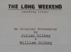 Original 1st Draft Screenplay Script from the 2008 Film - The Long Weekend