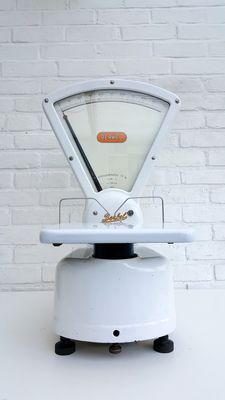 Enamel white Berkel scale - Type L - 1953
