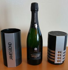 2002 Bollinger La Grande Annee Brut James Bond 007 Edition, Champagne - 1 bottle in original case