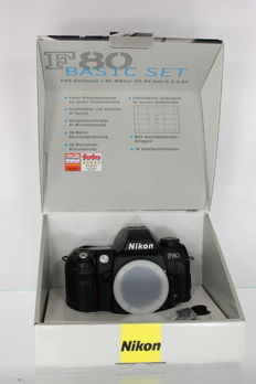 Nikon F80 with original packaging - Collector's item