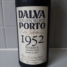 "1952 Colheita White Port C. Da Silva Dalva ""Golden White"" - bottled in 1995"
