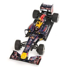 Minichamps - Scale 1/18 - Infiniti Red Bull Racing Renault RB9 #1 Winner Indian GP World Champion 2013